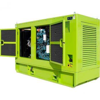 Дизельный генератор DOOSAN АД180-Т400 в кожухе
