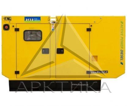 Дизельный генератор Aksa APD70A в кожухе с АВР