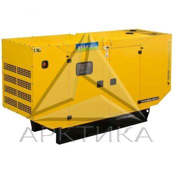 Дизельный генератор Aksa APD125A в кожухе с АВР