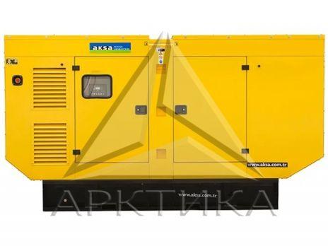 Дизельный генератор Aksa APD250A в кожухе с АВР