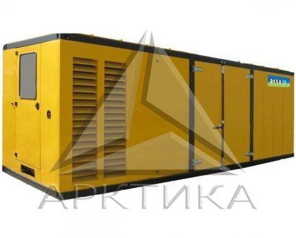 Дизельный генератор Aksa AC-1410 в кожухе с АВР