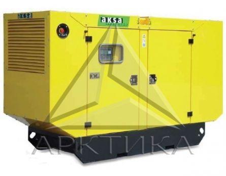 Дизельный генератор Aksa AC-170 в кожухе с АВР