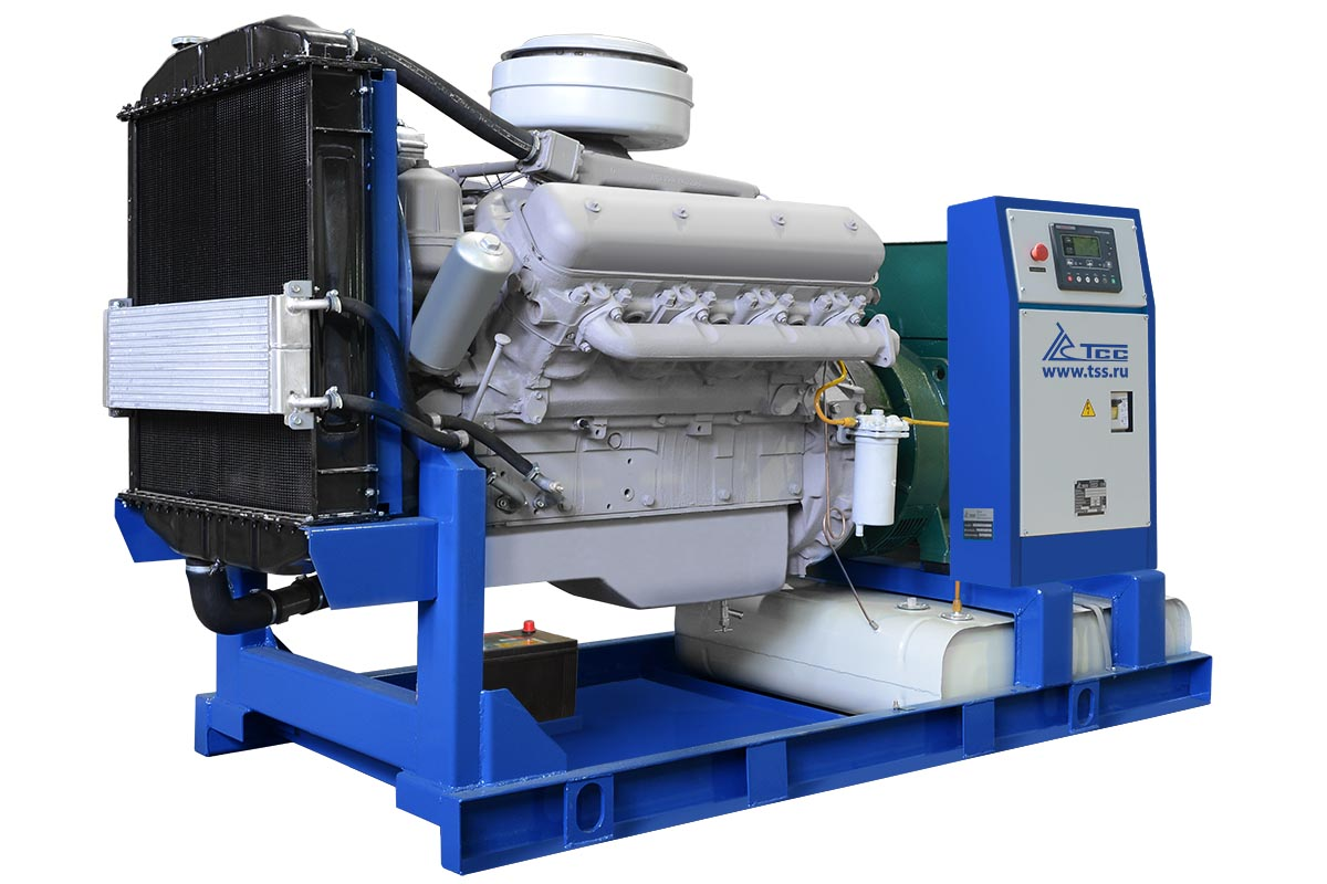 Дизельный генератор ТСС АД-100С-Т400-1РМ2 Marelli