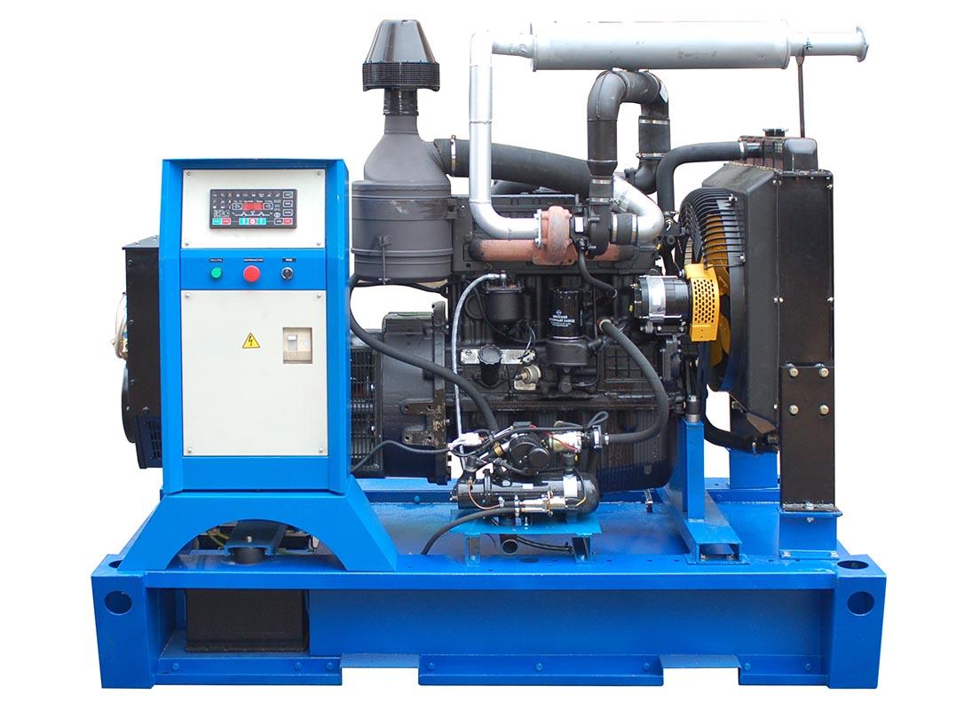 Дизельный генератор ТСС АД-60С-Т400-1РМ1 в шумозащитном кожухе