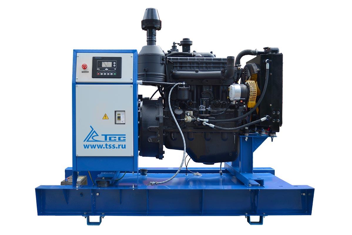 Дизельный генератор ТСС АД-30С-Т400-1РМ1 в шумозащитном кожухе