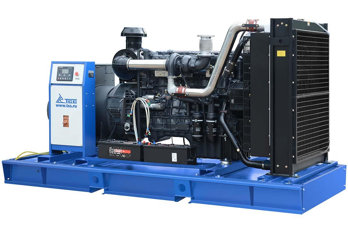 Дизельная электростанция в контейнере 300 кВт ТСС АД-300С-Т400-1РНМ5