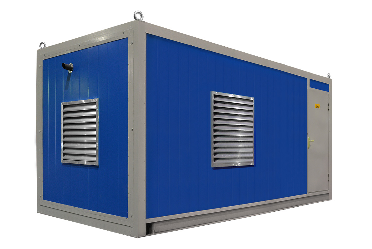 Дизель генератор в контейнере 300 кВт ТСС АД-300С-Т400-1РНМ5