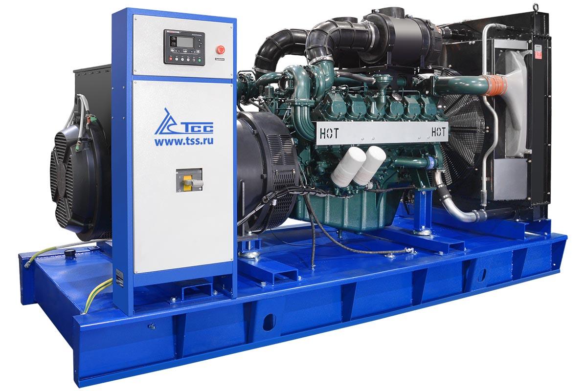 Дизельный генератор ТСС АД-600С-Т400-1РМ17