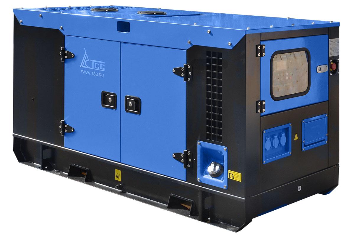 Дизельный генератор ТСС АД-16С-230 в шумозащитном кожухе с АВР