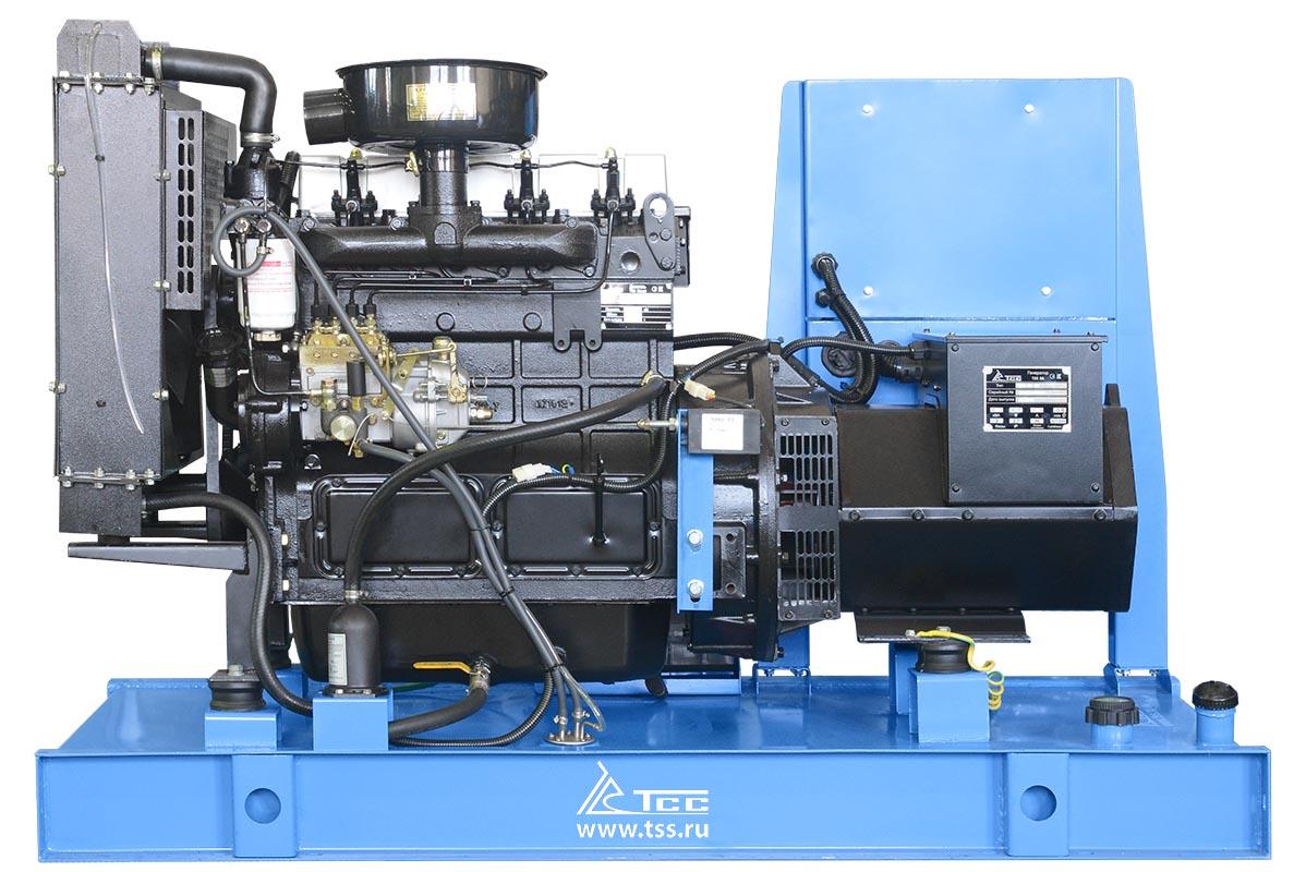 Дизельный генератор ТСС АД-20С-Т400 в погодозащитном кожухе