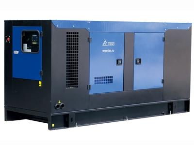 Дизельный генератор ТСС АД-200С-Т400 в шумозащитном кожухе с АВР