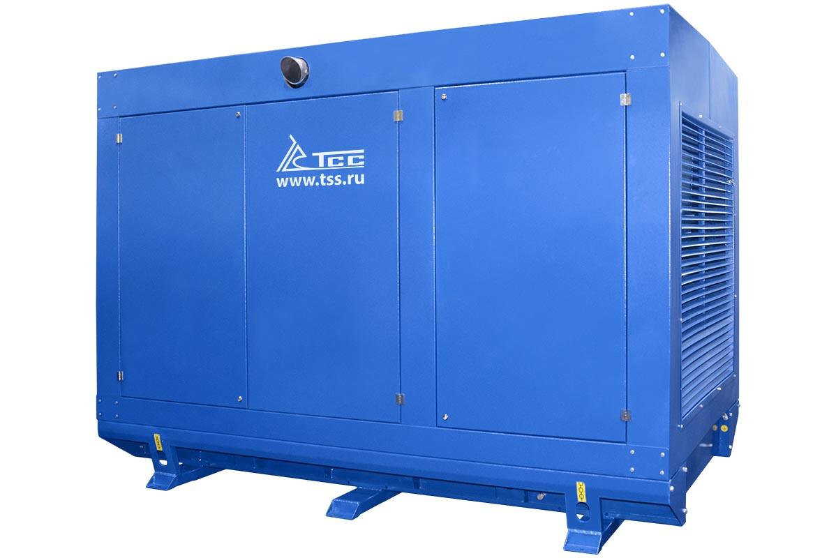 Дизельный генератор ТСС АД-300С-Т400 в погодозащитном кожухе