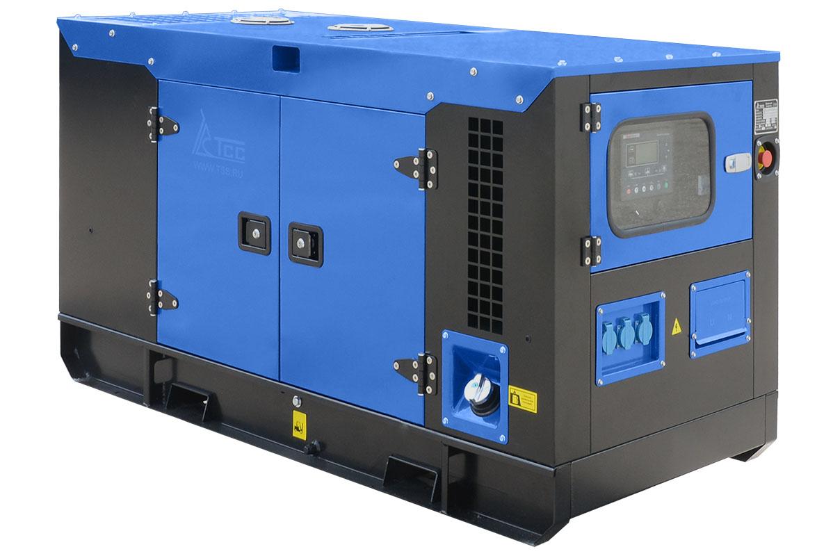 Дизельный генератор ТСС АД-60С-Т400 в шумозащитном кожухе с АВР