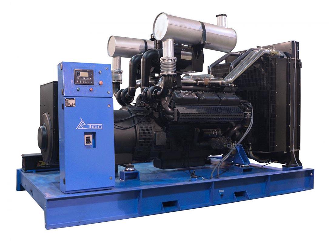 Дизельный генератор ТСС АД 440С-Т400 в контейнере с АВР
