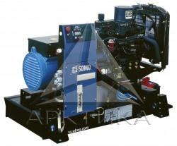 Дизельный генератор SDMO T 22K в кожухе с АВР
