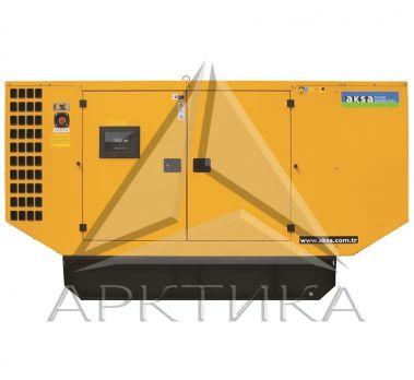 Дизельный генератор Aksa AP 150 в кожухе с АВР