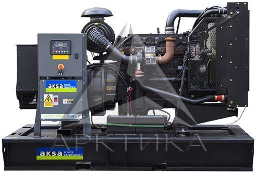 Дизельный генератор Aksa AP 385 с АВР