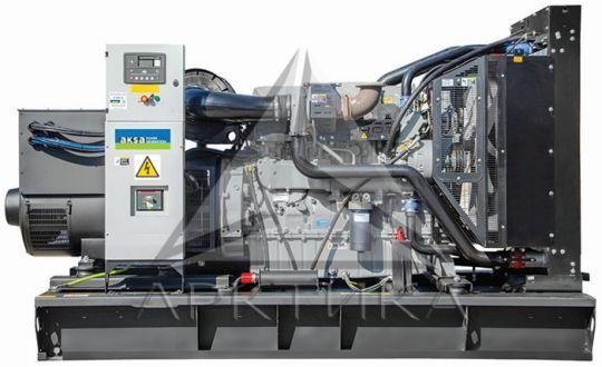 Дизельный генератор Aksa AP 500 с АВР