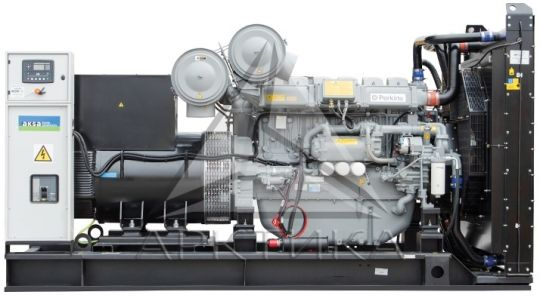 Дизельный генератор Aksa AP 900 с АВР