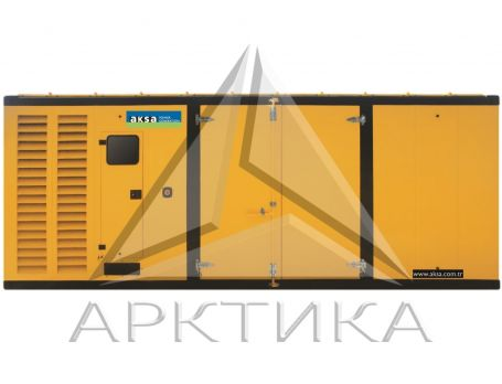 Дизельный генератор Aksa AP 900 в кожухе с АВР