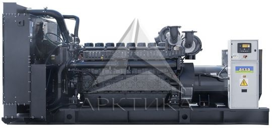 Дизельный генератор Aksa AP 1125 с АВР