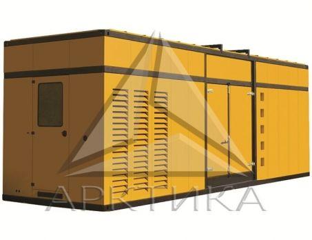 Дизельный генератор Aksa AP 1650 в кожухе с АВР