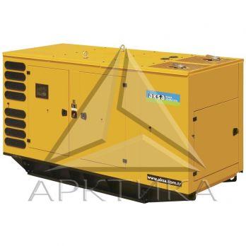 Дизельный генератор Aksa AVP-510 в кожухе с АВР