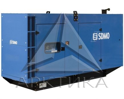 Дизельный генератор SDMO V 400C2 в кожухе