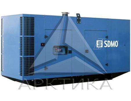 Дизельный генератор SDMO V650C2 в кожухе с АВР